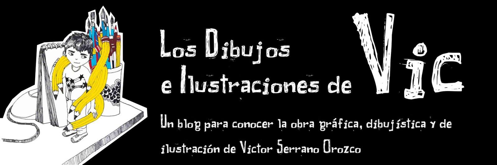 LOS DIBUJOS E ILUSTRACIONES DE VIC