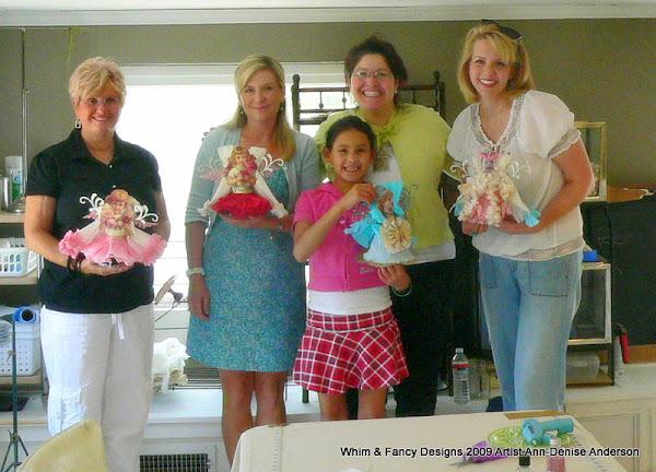 Tinsel Cage Doll Workshop