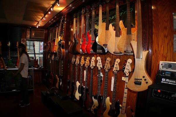 tienda de guitarras