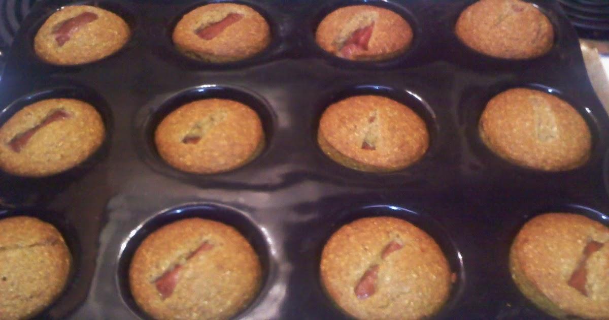 Healing My Body: Gluten Free Corn Dog Cornbread Muffins