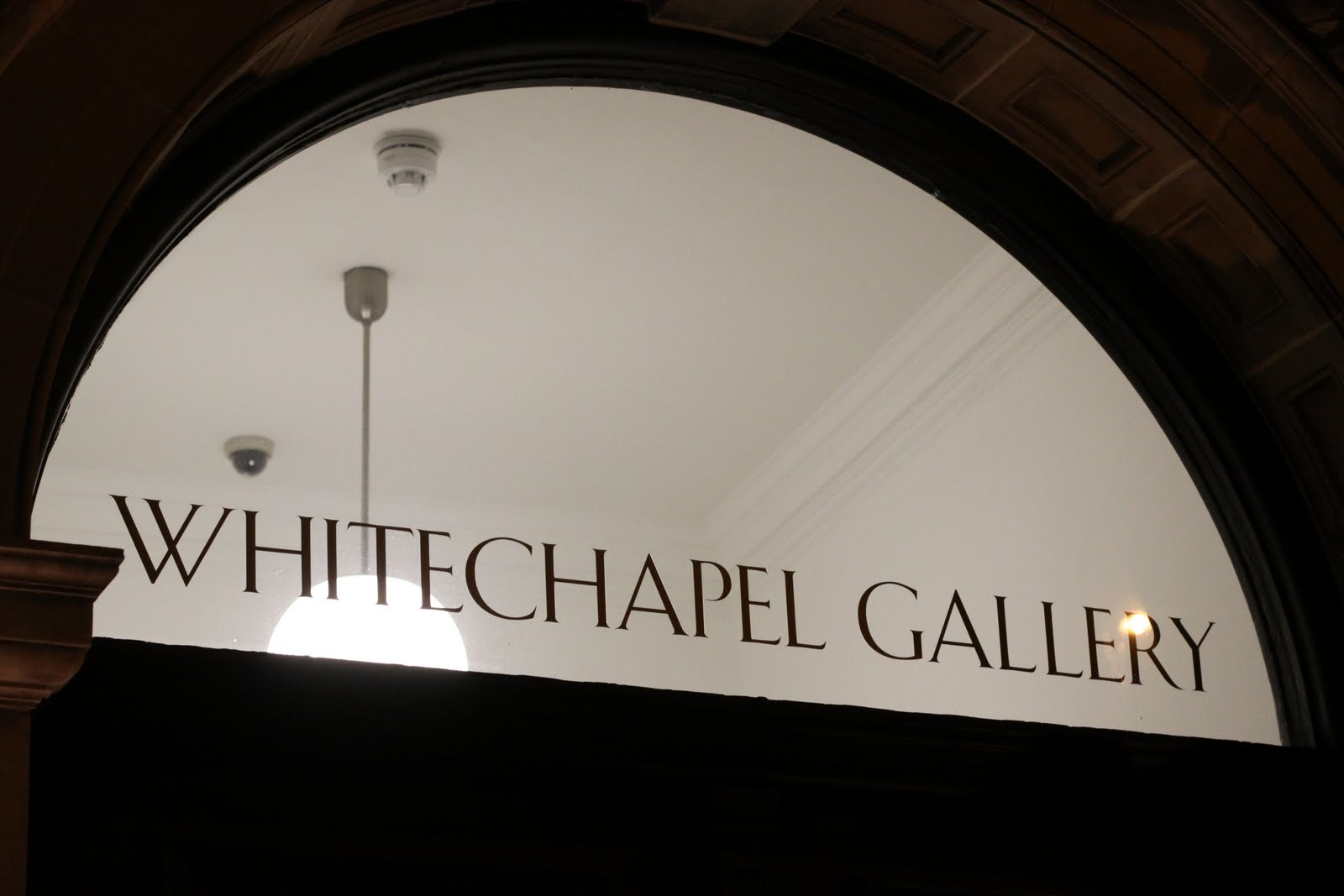 The London Foodie: London Restaurant Reviews – Whitechapel Gallery ...