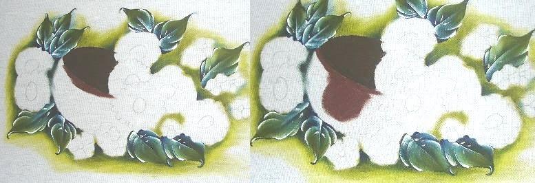 pintura em tecido cesta passo a passo