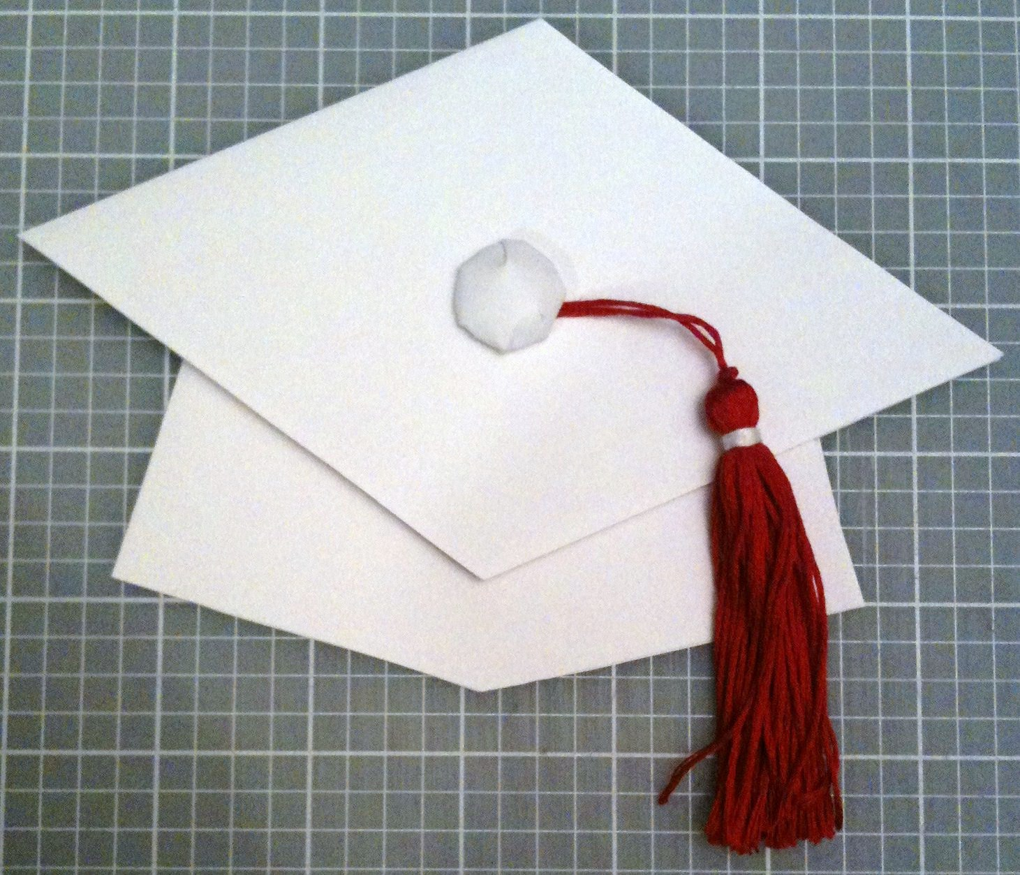 my simple crafts graduation cap card