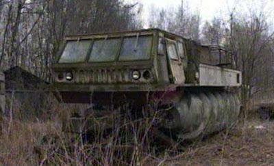 vehiculos rusos off road impulsados x tornillo de arquimedes