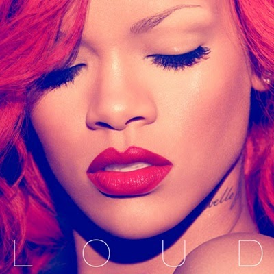 On the cover we can see how gorgeous Rihanna looks, with her flaming red