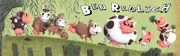 Ben Redlich Illustrator