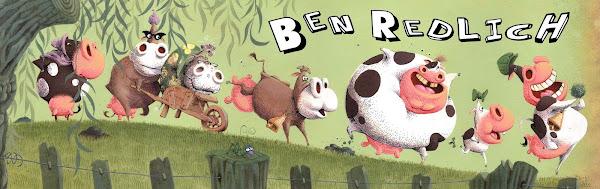 Ben Redlich Illustrator