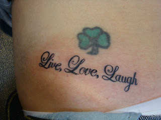 Love Laugh Live Tattoo on Sin City Tattoos  Live  Love  Laugh
