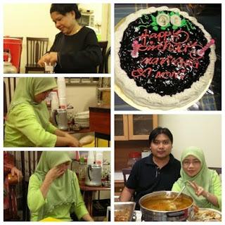 3 Foto sekitar majlis resepsi Aeril Zafrel dan Wawa Zainal