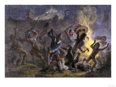 pequot war The pequot war the image depicts the attack on the pequot fortified village at  mystic on june 5, 1637 the woodcut was included in john underhill's account of .