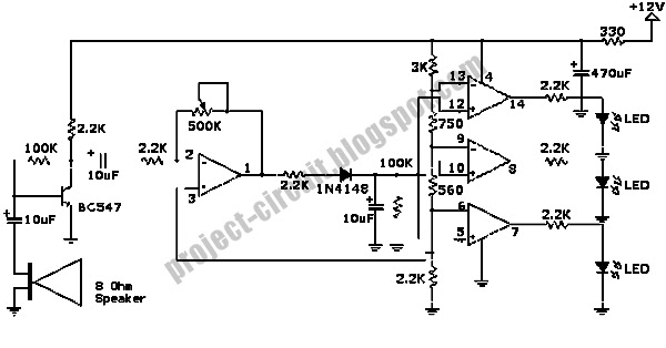 electronics technology  decibel sound pressure level meter circuit this is a design for decibel