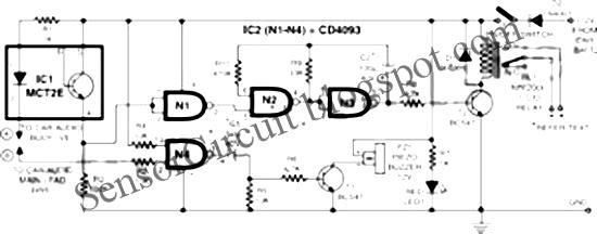 sensor schematic  anti