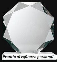 Premio Esfuerzo Personal