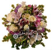 Ramo de Novia Q. Vida Flor. ramo de novia con rosas astromelias fresias flor .