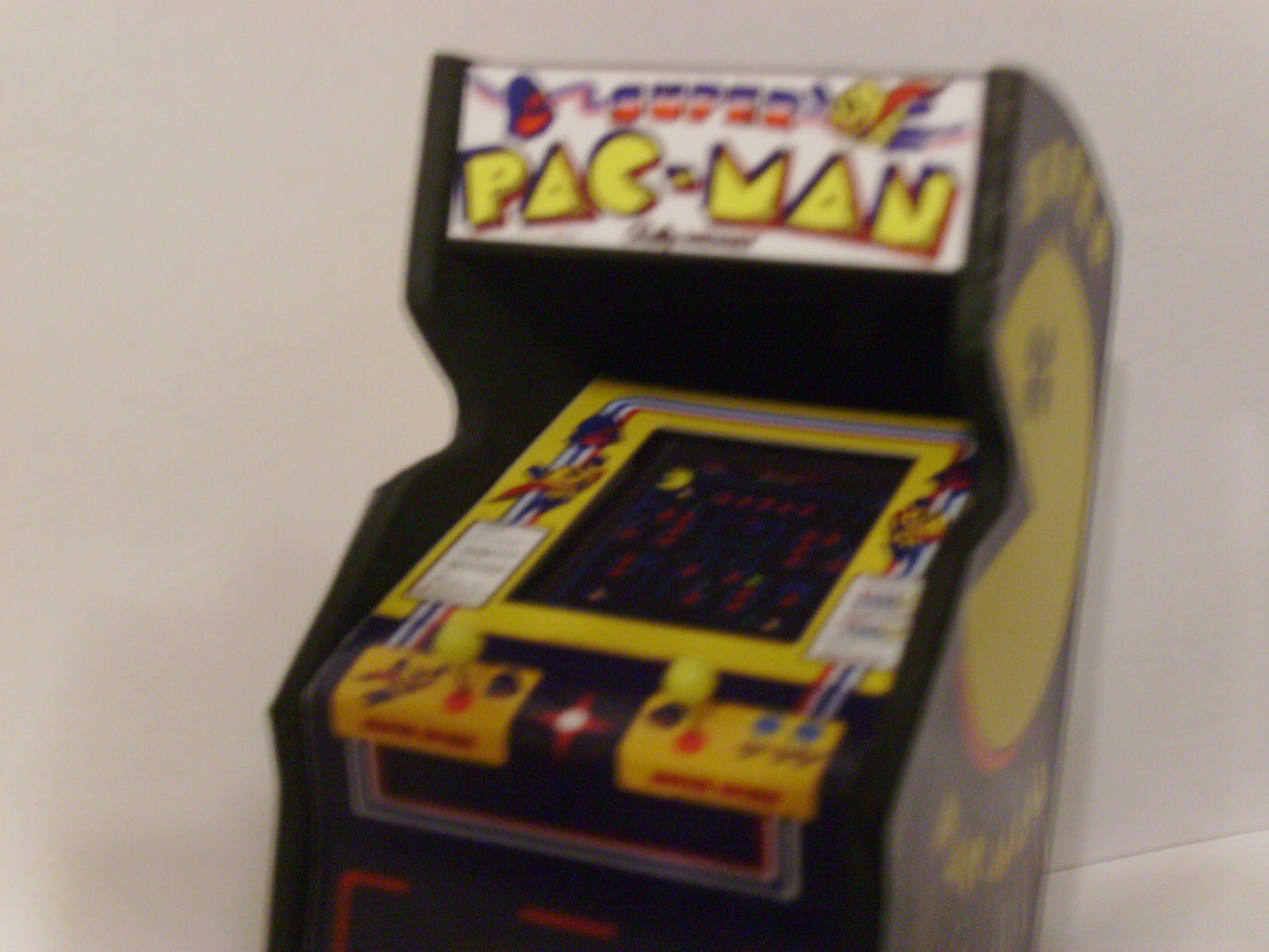 Retro Heart Super Pac Man Custom Scale Arcade Model