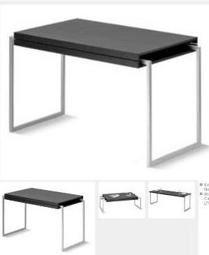 2 mesas por 1 mesa de centro elevable y extensible mesa for Mesas comedor sevilla