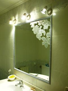 Vinilos decorativos 4 con papel electroest tico para ventanas y espejos - Vinilos para espejos ...