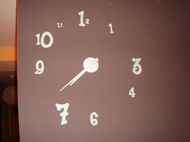 El reloj de pared de cph - Mecanismo reloj pared ikea ...