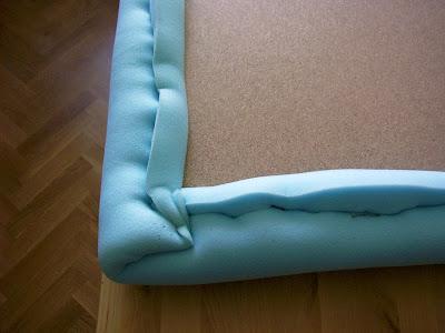 Nuestro cabecero de polipiel paso a paso - Telas para cabeceros de cama ...