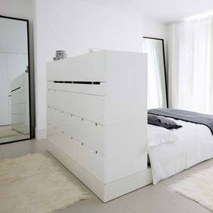 ikea hack c mo hacer un cabecero con almacenaje. Black Bedroom Furniture Sets. Home Design Ideas