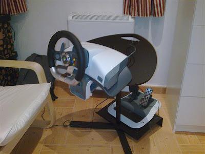 Ikea hack soporte para el volante de alejandro - Simulation salon ikea ...
