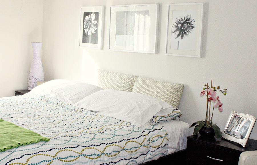 Insp rate cuadros en la pared del cabecero - Cuadros encima cabecero cama ...