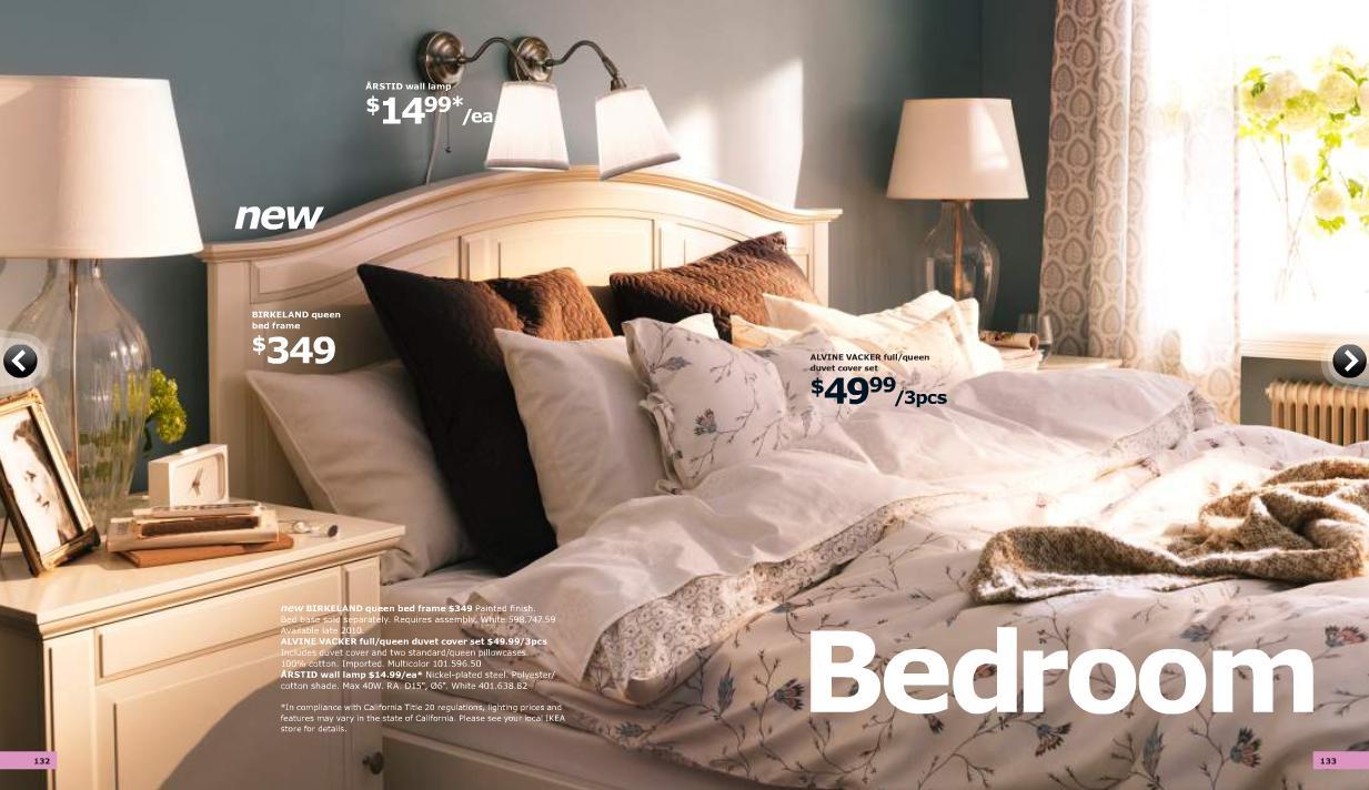 Catalogo ikea 2011 al completo dormitorios for Dormitorio ikea blanco