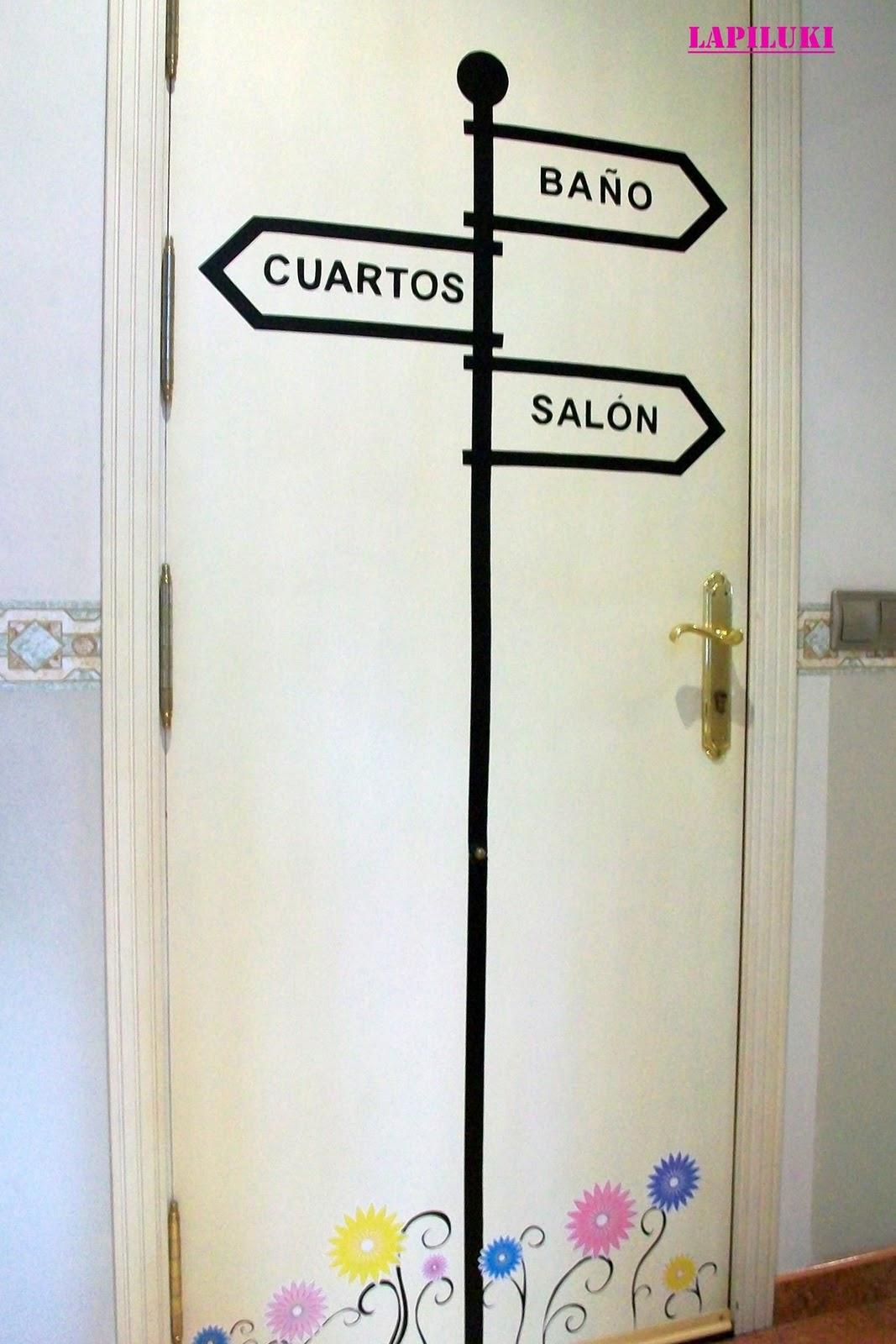 La puerta de Pilar cmo decorar con papel adhesivo x4duroscom