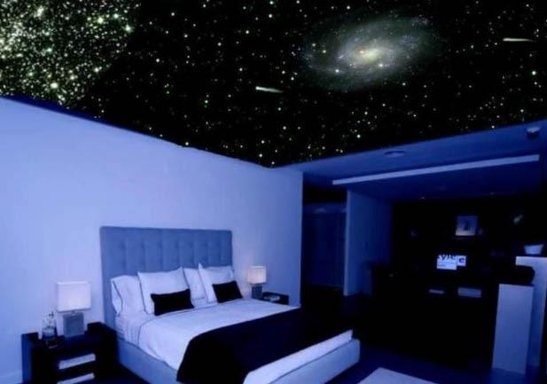 t preguntas pintar un cielo de estrellas en habitaci n