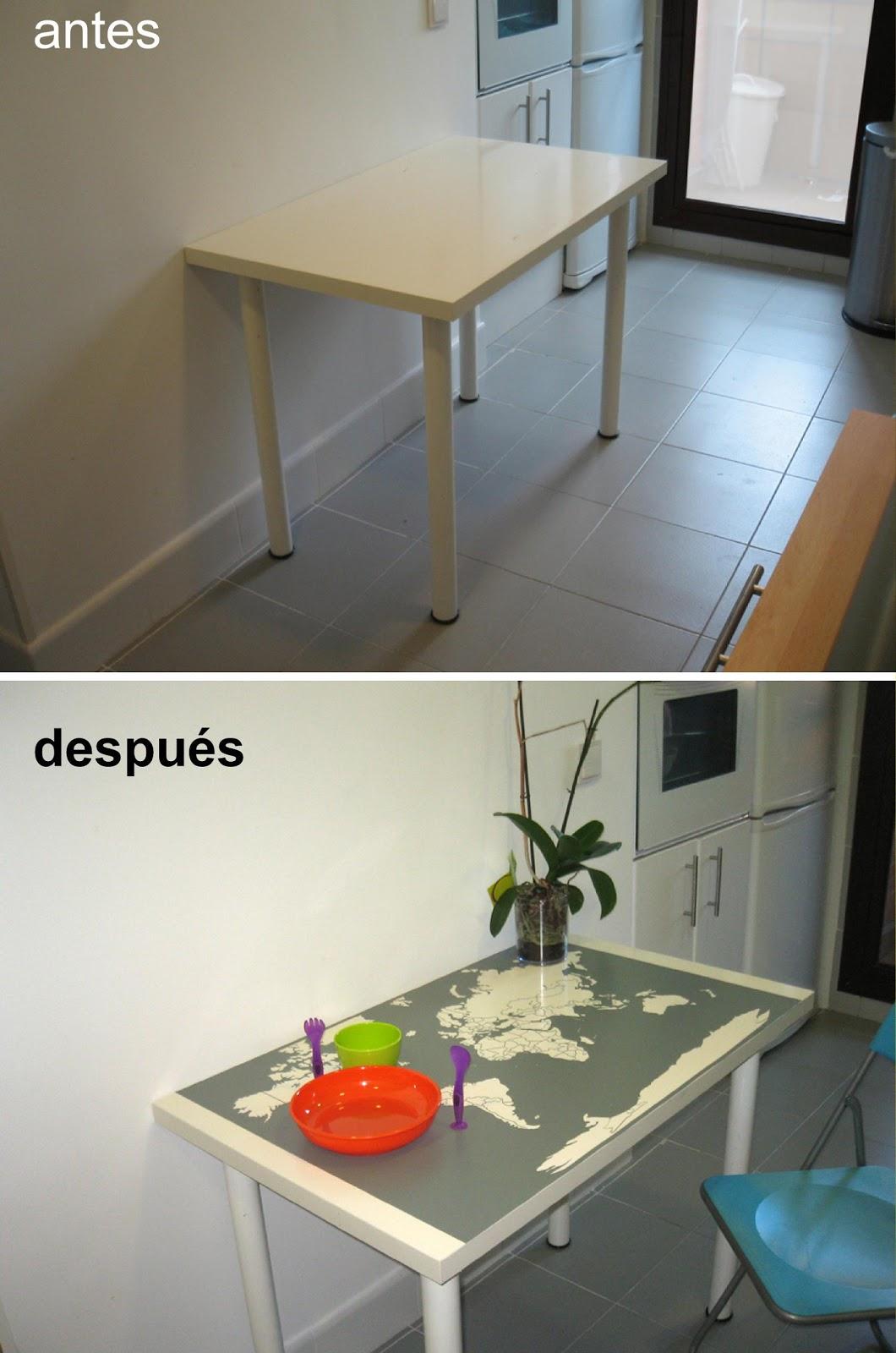 Un vinilo en la mesa de cocina de marta - Vinilos ikea cocina ...