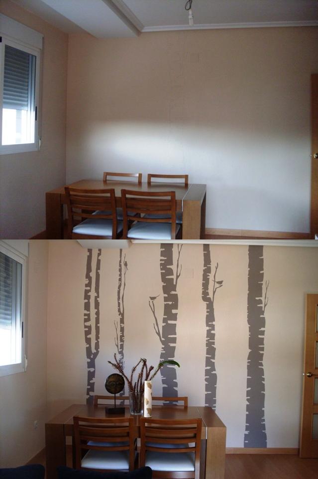 El vinilo en pared de gotel de zin for Vinilos pared gotele