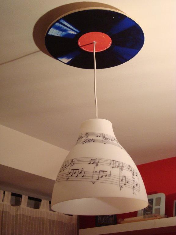 Ikea hack la l mpara melodi de cph - Lamparas de ikea ...