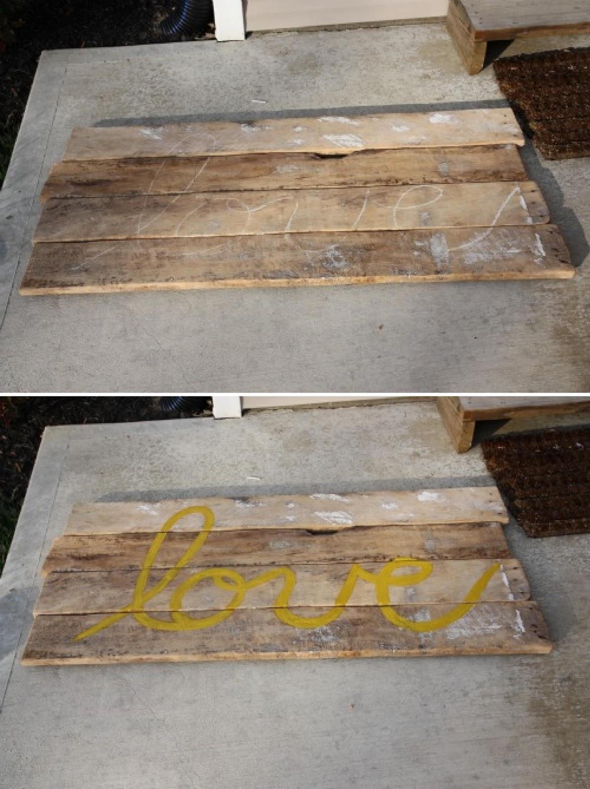 Diy cabecero con tablones de madera - Hacer cabecero de madera ...