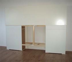 Ikea hack cabecero con cajones - Cabecero con almacenaje ...