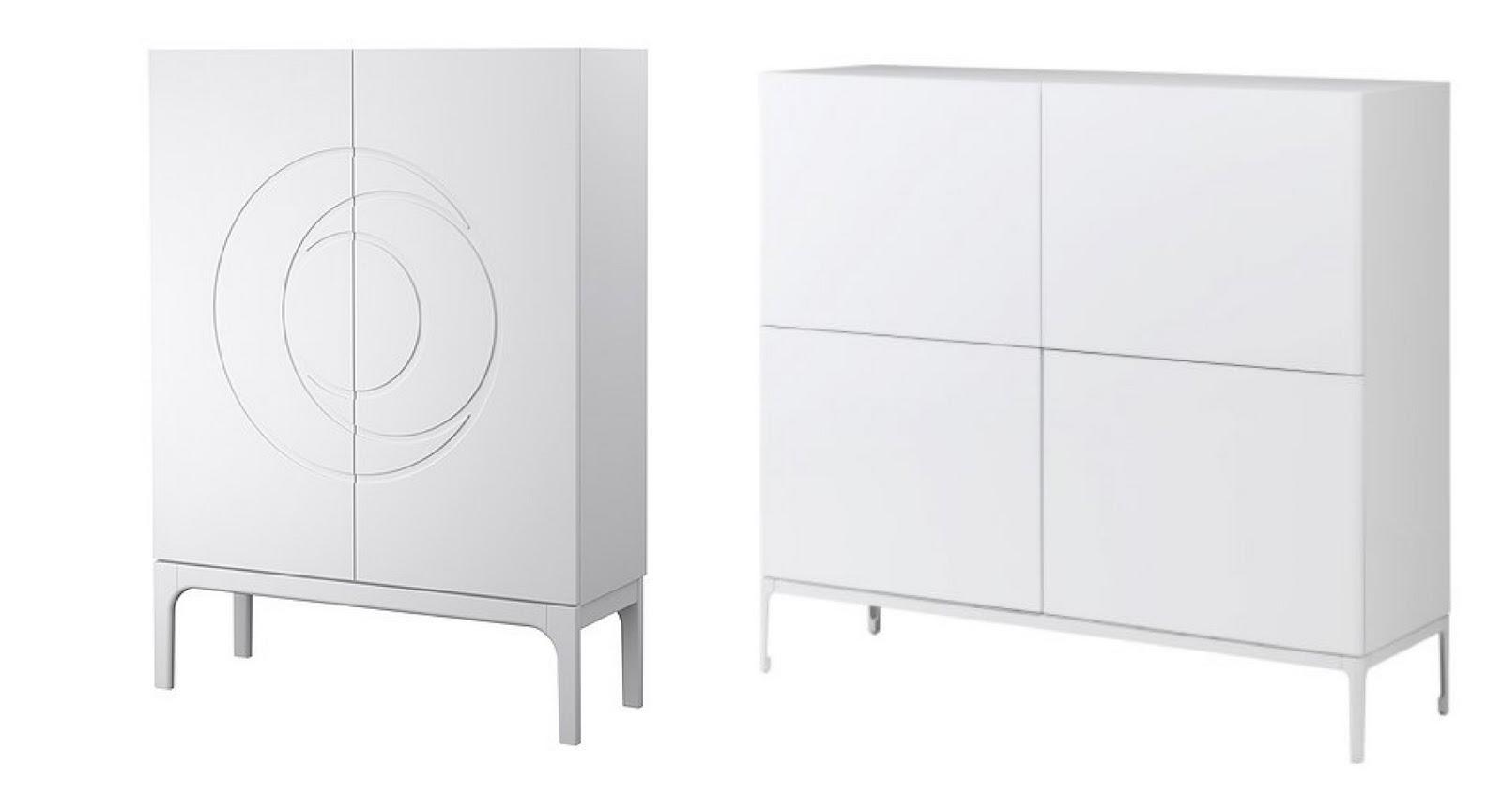 Casas cocinas mueble ikea aparadores for Muebles blancos ikea