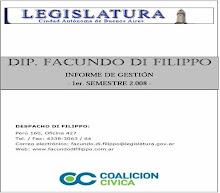 Informe de Gestion 1er Semestre de 2008