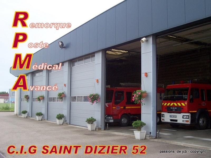 sapeurs pompiers 52 c i g saint dizier r p m a. Black Bedroom Furniture Sets. Home Design Ideas