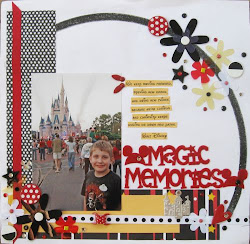 Visit my 2009 Disney Scrapbook blog