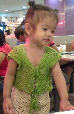Girlies Crochet: BOLERO for 1 and 1/2 year old