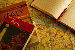 Two travel guides for Europe