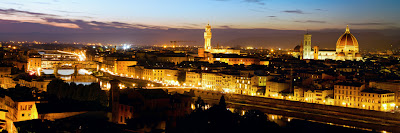 Panoramic view of Firenze - Firenze, Italy