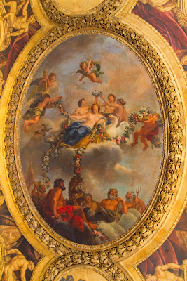 A ceiling - Palace of Versailles