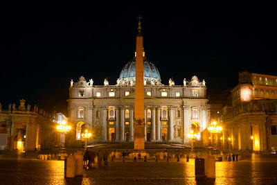 The Obelisk at St Peters - Vatican City