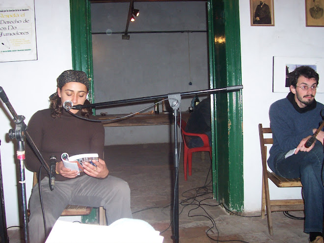 Recital en casa de Andrade, junto a Matota