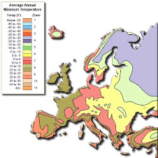 Hardiness Zones Europe
