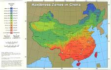 Hardiness Zones China