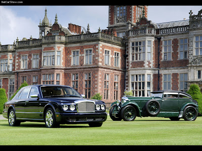 Bentley Arnage Blue Train Series Wallpapers Pictures Photos Images