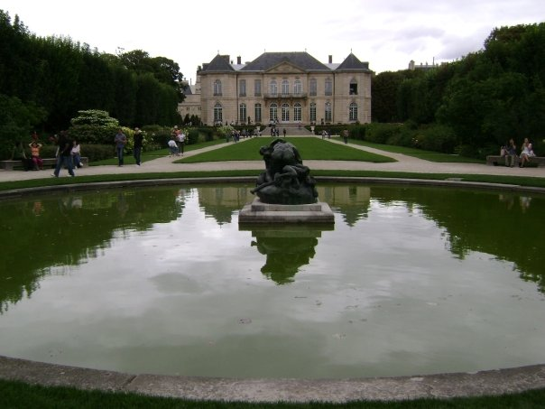 Musee Rodin In Paris France