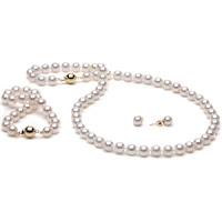 jewelry set pearls