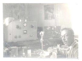 Meu pai. Rádio amador